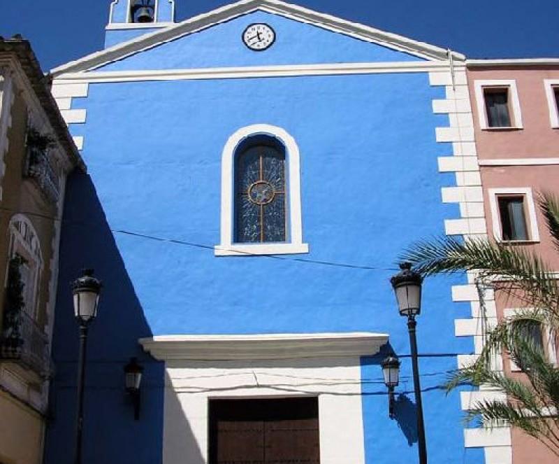 The church of Nuestra Señora de la Merced in Calasparra