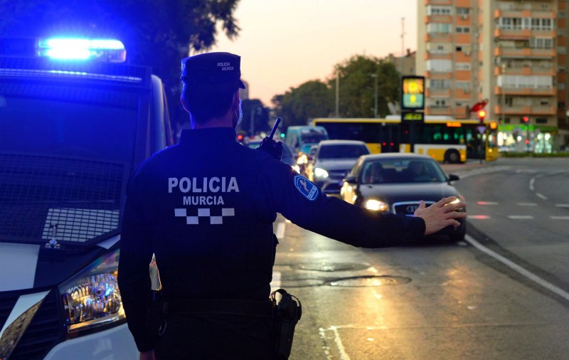 <span style='color:#780948'>ARCHIVED</span> - Murcia city police fine 252 people for covid infractions just on Tuesday