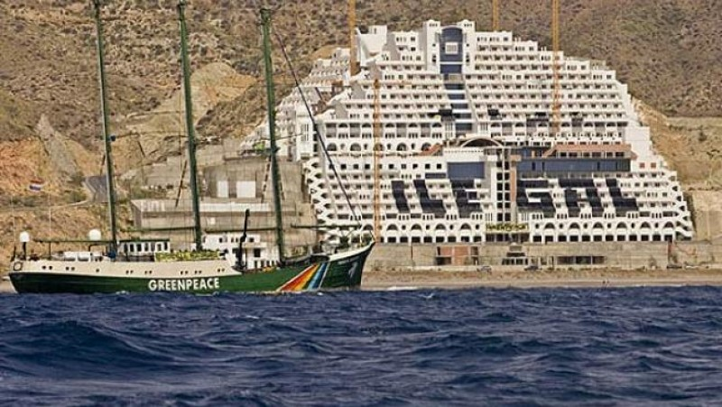<span style='color:#780948'>ARCHIVED</span> - Supreme Court ruling could hasten demolition of El Algarrabico hotel in Almeria 15 years after construction halted