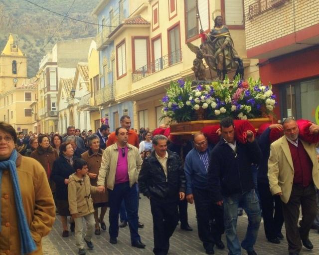 The Fiestas de San Roque in Blanca (April and August)