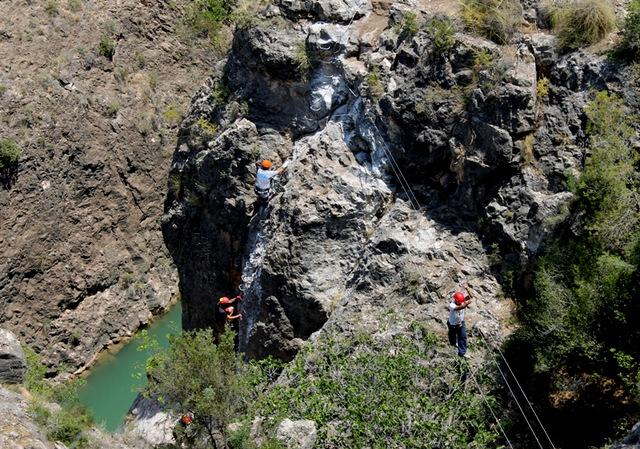 Via Ferreta climbing route Cieza