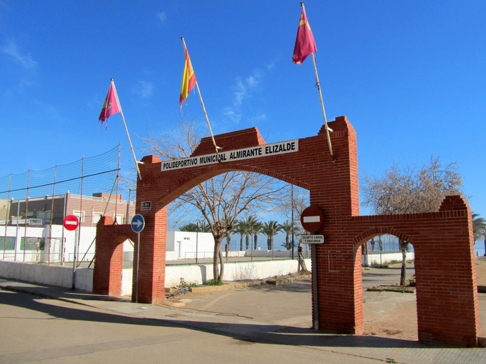 Municipal sports facilities in Los Urrutias