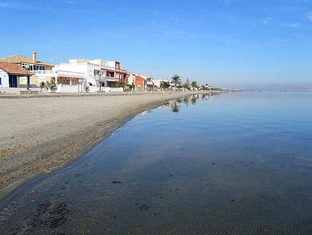 Cartagena beaches: El Carmolí