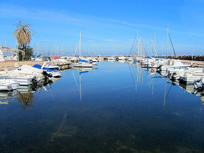The marina of Mar de Cristal