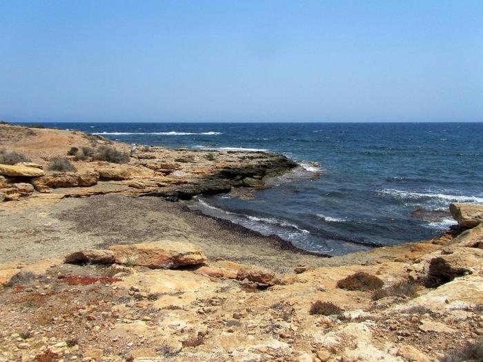 Águilas beaches: Playa de las Pulgas