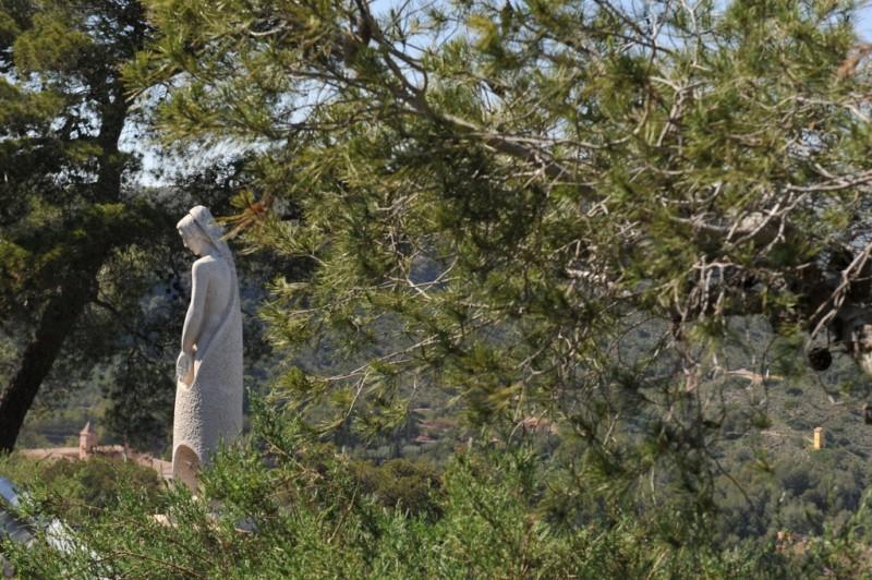 The Via Crucis in Totana, stunning sculpture set in the beautiful Sierra Espuna