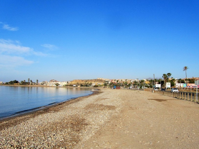 Sporting beaches: Jet-ski hire, beach fishing and windsurfing, Playa Alamillo Mazarrón