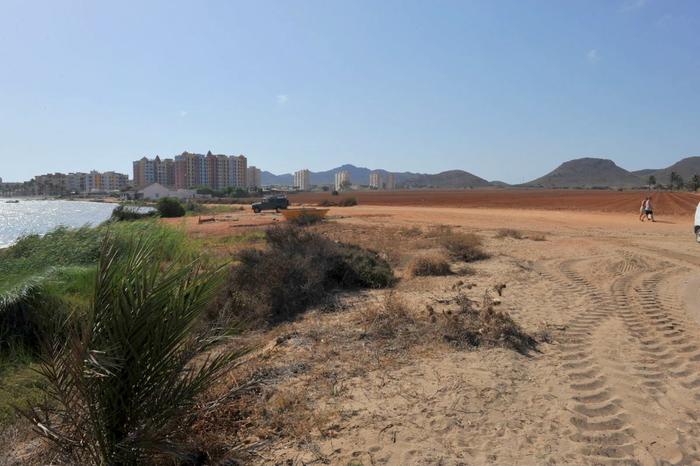 Cartagena beaches: Playa Lomas del Castillico