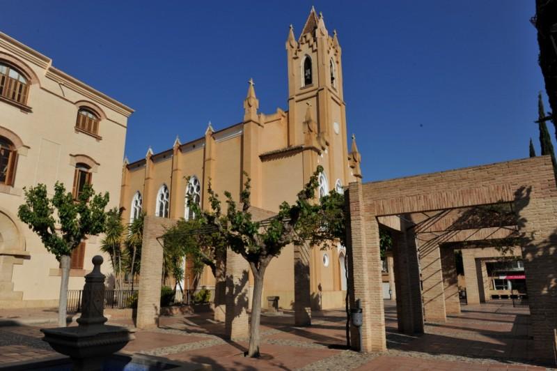 The Chapel of La Milagrosa or Iglesia Concepción in Totana