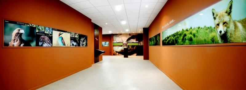 Nature interpretation centre and hostel of Cabezo de la Jara in Puerto Lumbreras