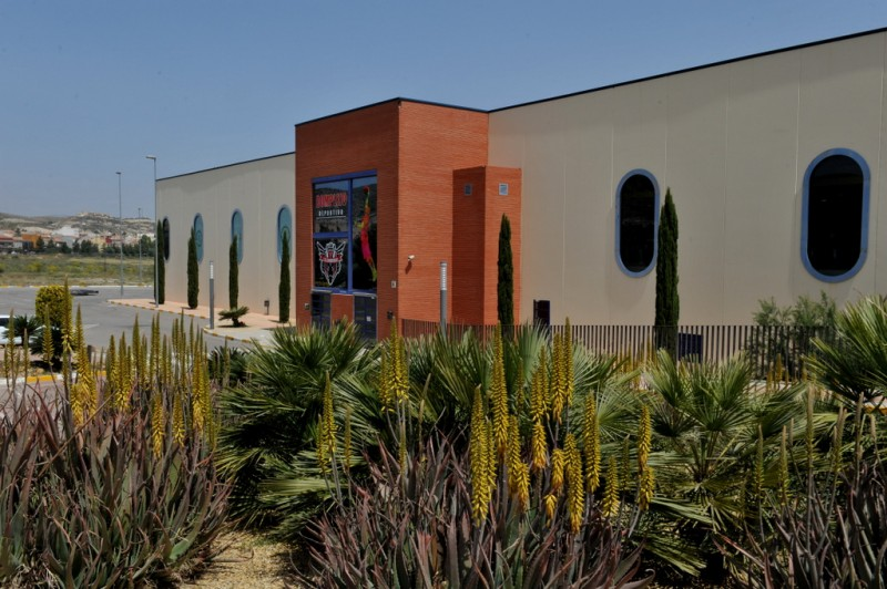 Municipal sports centre in Puerto Lumbreras