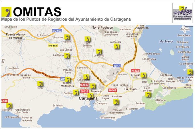 Municipality of Cartagena , OMITA Offices, Consumer and social services offices