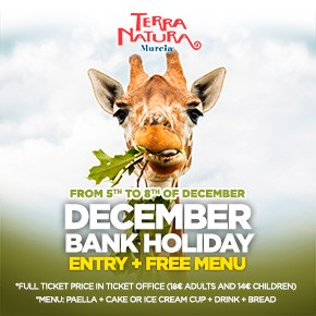 Terra Natura December Bank Holiday 2020