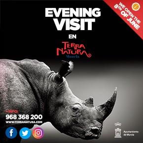 Terra Natura Evening Visit june 2020 Banner