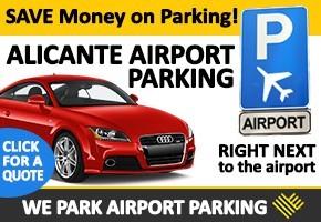 We Park Alicante airport parking NEWS