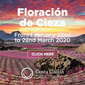 Murcia Turistica Floracion Whats on column banner