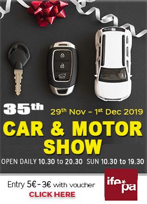IFEPA Car and Motor Show November 2019