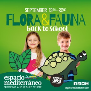 Espacio Mediterraneo Back to School Banner weekly Bulletin
